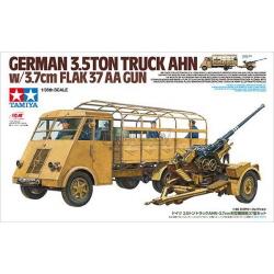 1/35 독일 3.5톤 트럭 AHN w/ 3.7cm Flak 37 AA GUN