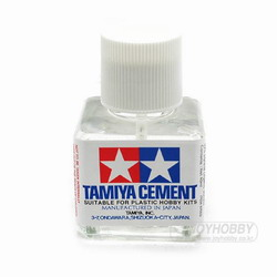TAMIYA CEMENT(프라모델용,40ML) 접착제  m,..