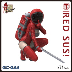 1/24 RED SUS! (GIRLS IN ACTION, 레진피규어)
