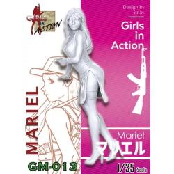 1/35 Mariel (GIRLS IN ACTION, 레진피규어)