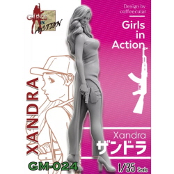1/35 Xandra (GIRLS IN ACTION, 레진피규어)