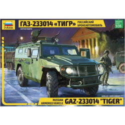 1/35 Russian Armored Vehicle Tiger GAZ-233014