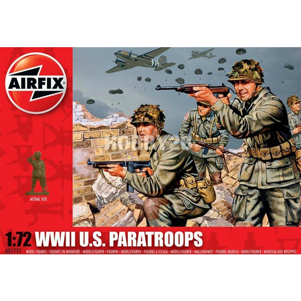 1/72 WWII US Paratroops, AIRFIX