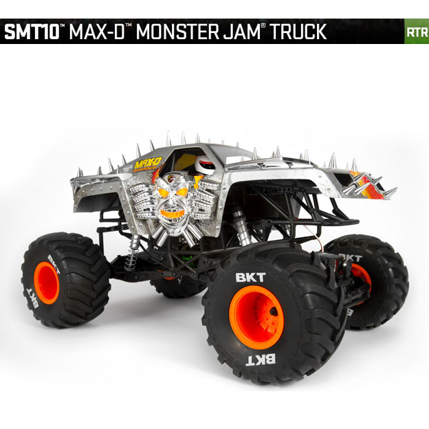 SMT10™ MAX-D Monster Jam Truck 1/10th Scale Electric 4WD - RTR, AXIAL RACING