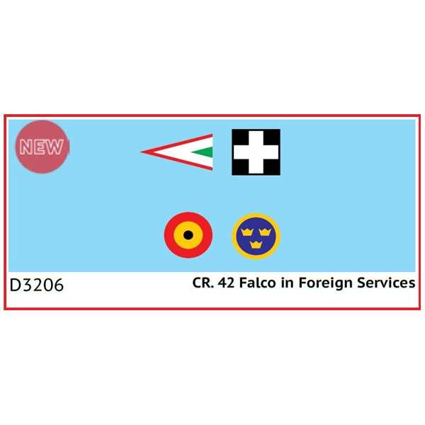 1/32 CR. 42 Falco in Foreign Services (데칼), ICM