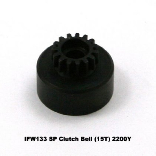 SP CLUTCH BELL 15T, KYOSHO