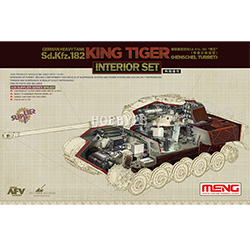 1/35 German Heavy Tank Sd.Kfz.182 King Tiger (Henschel Turret) Interior Set(전차 미포함)