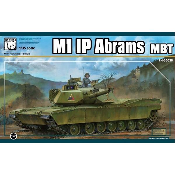 1/35 M1 IP  Abrams  MBT, PANDA MODEL