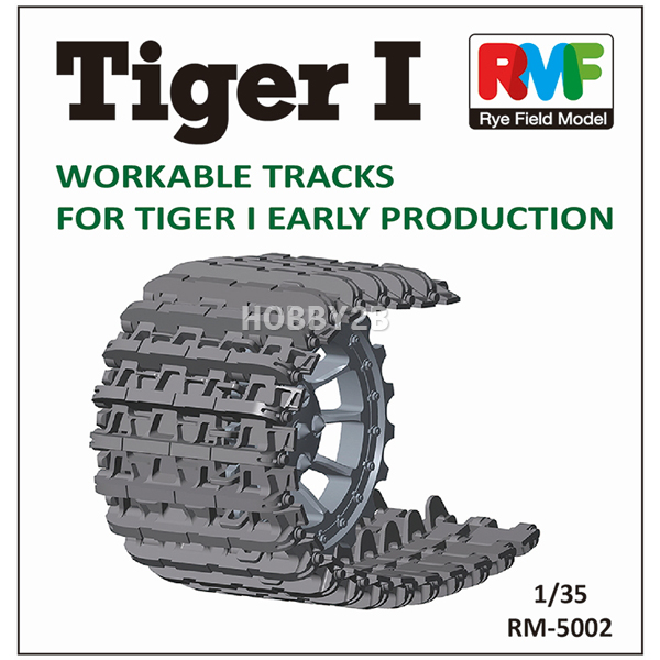 1/35 Tiger I Workable Tracks for Early Production (타이거-I 초기형 캐터필러), RYE FIELD MODEL