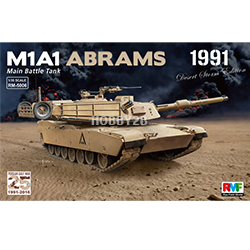 1/35 M1A1 Abrams Gulf War edtion