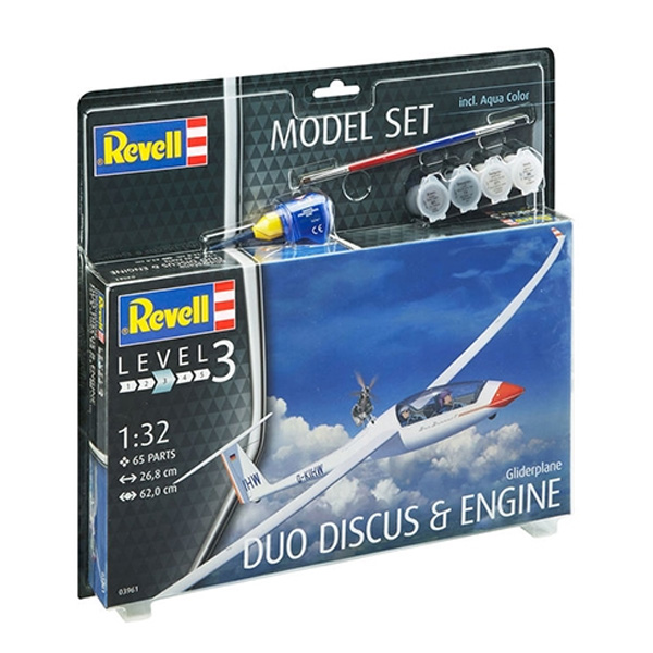 1/32 Model Set Gliderplane DUO DISCUS, REVELL