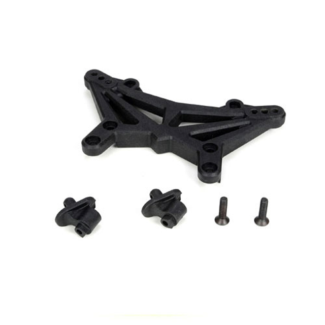 Shock Tower & Body Mounts, Front  22T, TEAM LOSI