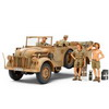 1/35 GERMAN STEYR TYPE 1500A/01 & AFRICA CORPS INFANTRY AT REST