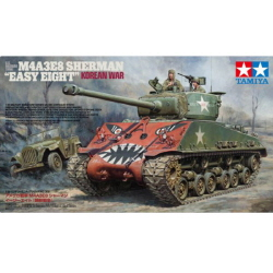 "[2018-01 발매예정] 1/35 U.S. Medium Tank M4A3E8 Sherman ""Easy Eight"" Korean War"